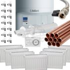 Vaillant ecoTEC Pro 30 Combi Heat Pack c/w Copper Tube