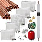 Gold 9 KW electric boiler heat pack with copper tube
