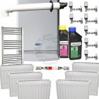 Baxi Platinum 28 Combi Boiler Central Heating Pack