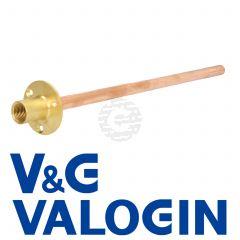 "V&G Hose Union 1/2"" Backplate c/w 15 mm X 360 mm Long Through Wall Tube"