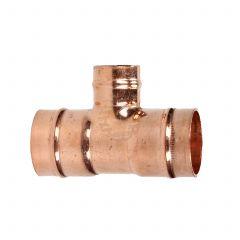 Solder Ring 22 mm X 22 mm X 15 mm Reducing Tee