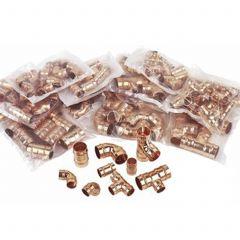 Solder Ring Fittings Pack  (135 Fittings)