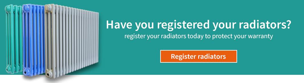 Register your radiator