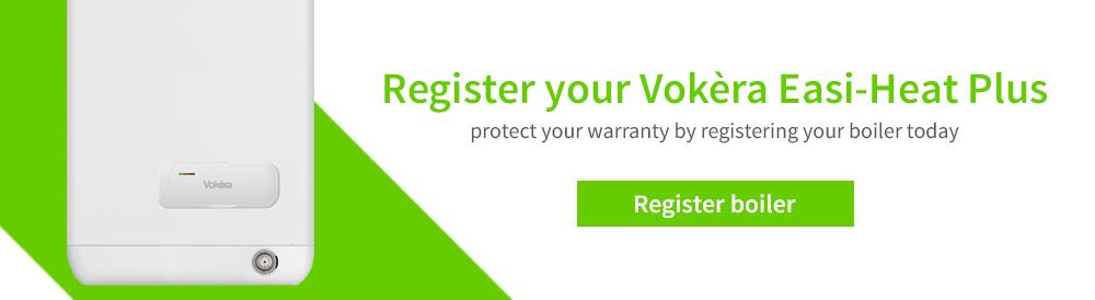 Register your boiler