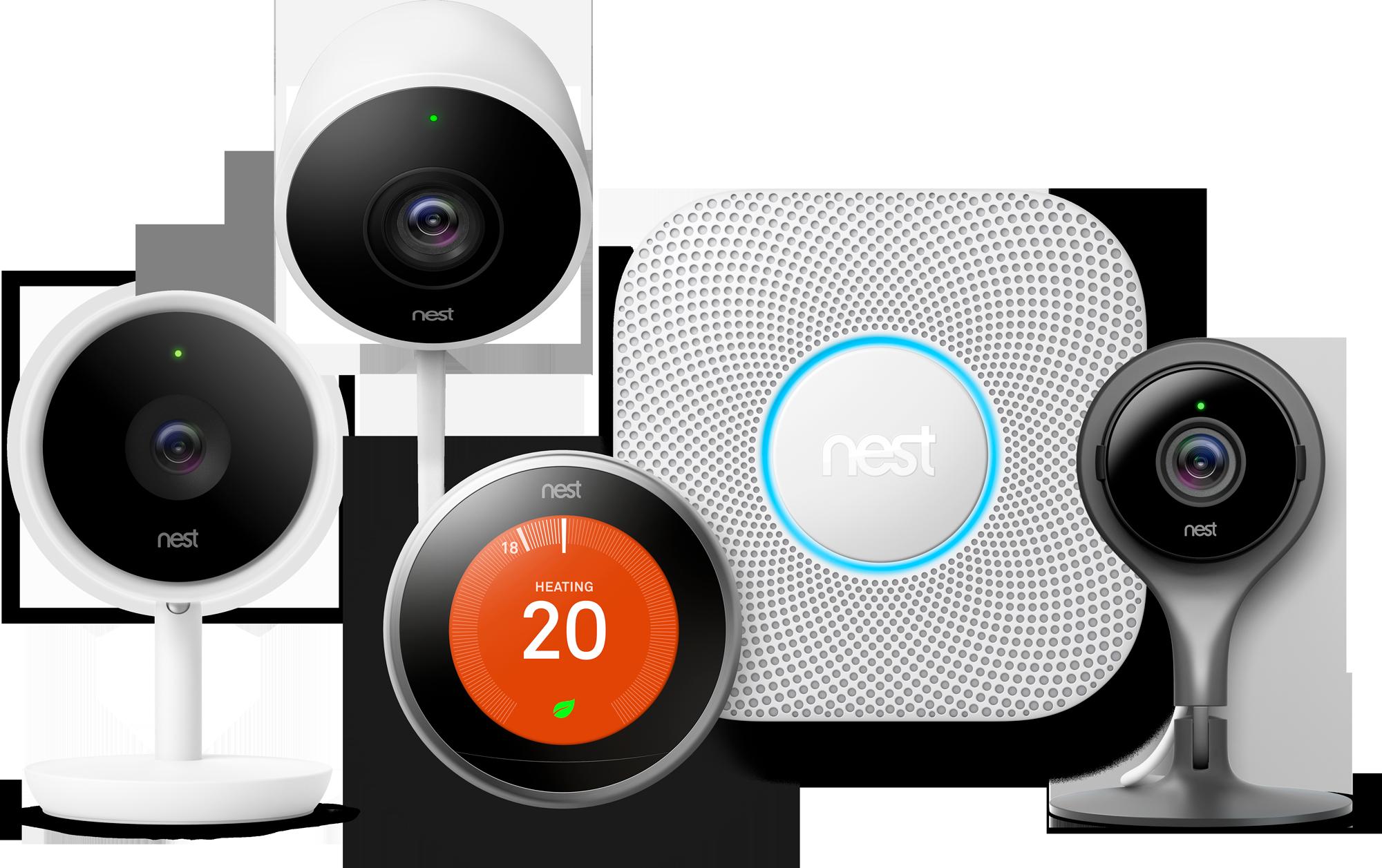Google Nest Product Range