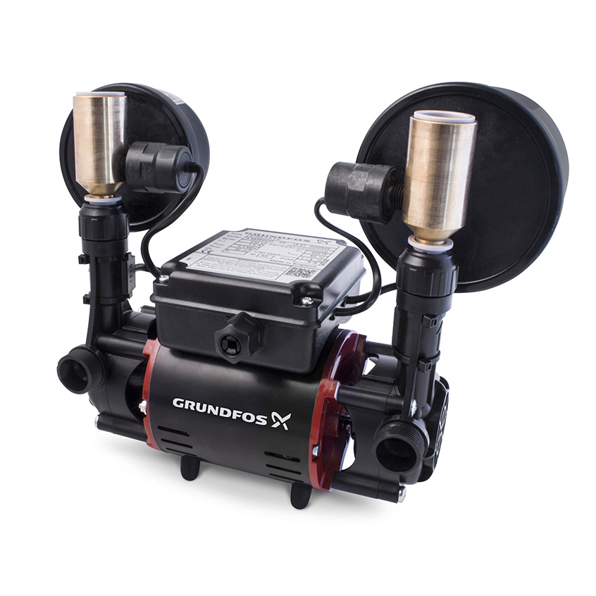 Grundfos STR2-2.0CN Universal 2.0 Bar Shower Pump