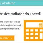 Radiators size with a BTU Calculator