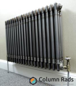 Industrial style Raw Metal Column radiator
