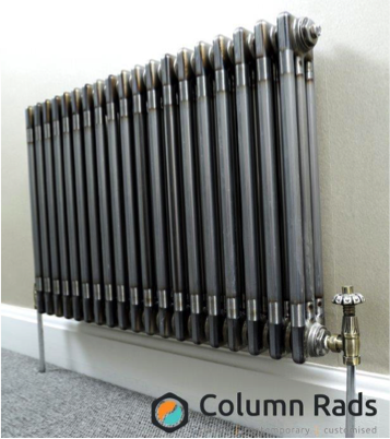 Industrial style Raw Metal Column radiator