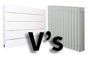 Columns Radiators Vs Flat Panel Radiators