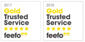 ColumnRads Receives Feefo Gold Rating