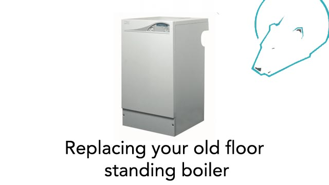 Replacing your old floor standing boiler