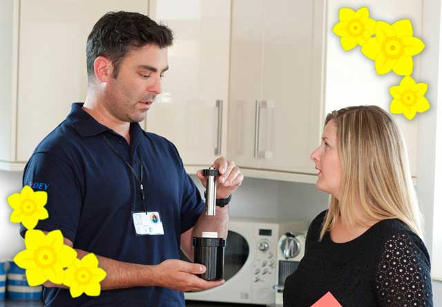 Central Heating - Look after it this spring