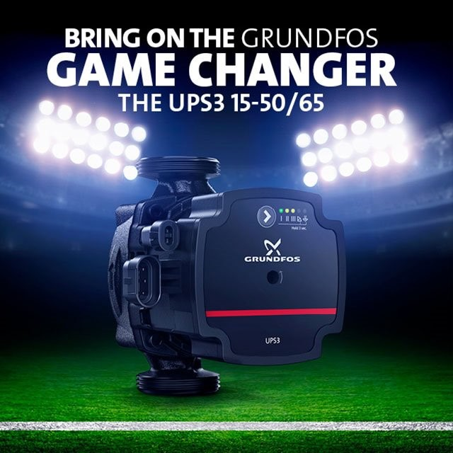 The Grundfos UPS3 Circulator Pump changing the game
