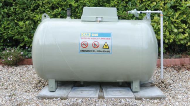 Réservoir d'essence LGP